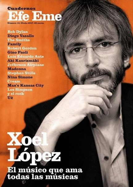 "Portada ""Cuadernos Efe Eme"". Xoel López."